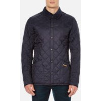 Barbour Heritage Mens Liddesdale Quilt Jacket - Navy - L - Navy