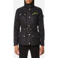 Barbour International Women's International Polarquilt Parka - Black - UK 12 - Black