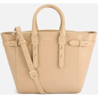 Aspinal of London Womens Marylebone Medium Tote Bag - Deer Brown