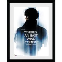 Sherlock East Wind - 16x12 Framed Photographic - Sherlock Gifts