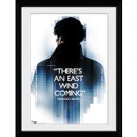 Sherlock East Wind - 16x12 Framed Photographic