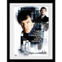 Sherlock Memory - 16x12 Framed Photographic - Sherlock Gifts