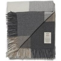 Avoca Cashmere Blend Rome Throw - Grey - 142 x 183cm