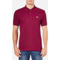 Lacoste Mens Polo Shirt - Bordeaux - 4/M