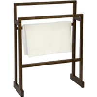 Wireworks Dark Oak Towel Rail
