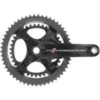 Campagnolo Record 11 Speed Ultra Torque Carbon Compact Chainset - Black - 50-34T 170mm