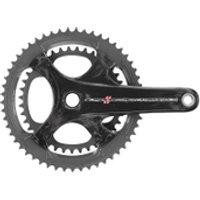 Campagnolo Super Record 11 Speed Carbon Compact Chainset - Black - 50-34T 175mm
