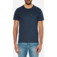 Levis Mens Sunset Pocket T-Shirt - Blue - S - Blue