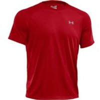 Under Armour Mens Tech T-Shirt - Red - M - Red