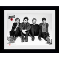 5 Seconds of Summer Sitting - Framed Photographic - 16 x 12inch