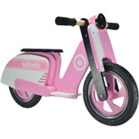 Kiddimoto Stripe Scooter - Pink - Scooter Gifts