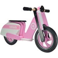 Kiddimoto Stripe Scooter - Pink