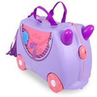 Trunki Bluebell Ride-On Suitcase - Purple