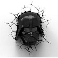 Star Wars Darth Vader 3D Wall Light - Darth Vader Gifts