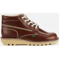 Kickers Men's Kick Hi Leather Boots - Dark Tan - UK 6.5/EU 40 - Tan