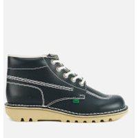Kickers Mens Kick Hi Leather Boots - Navy - UK 6.5/EU 40 - Navy