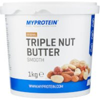 Nut Butter, Triple Nut - 1kg - Tub - Unflavoured