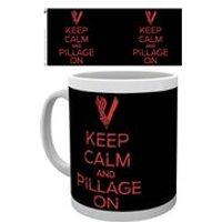 Vikings Keep Calm Mug - Vikings Gifts