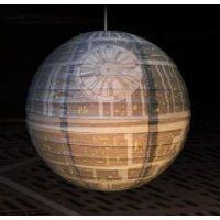 Star Wars Death Star Paper Lightshade - Star Wars Gifts