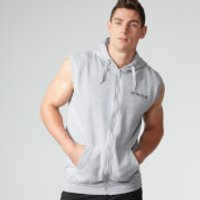 Myprotein Men's Sleeveless Hoodie - Grey Marl - XL - Grey Marl