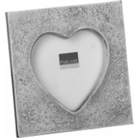 Parlane Heart Frame - Silver (90mm)