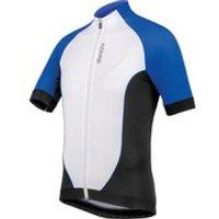 Santini Zero Impact 2.0 Short Sleeve Jersey - Blue/White - XL - Blue/White