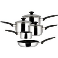 Prestige Everyday 5 Piece Stainless Steel Cookware Set