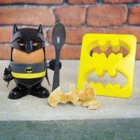 Batman Egg Cup and Toast Cutter - Batman Gifts