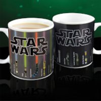 Star Wars Lightsaber Heat Change Mug - Star Wars Gifts