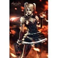 DC Comics Batman Arkham Knight Harley Quinn Fire - Maxi Poster - 61 x 91.5cm