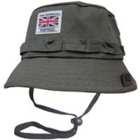 New Balance Mens Explorer Bucket Hat - Dark Green