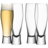 LSA Bar Lager Glasses - 400ml (Set of 4)