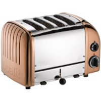 Dualit 47450 Classic Vario 4 Slot Toaster - Copper - Classic Gifts