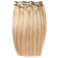 Beauty Works Deluxe Clip-In Hair Extensions 18 Inch - California Blonde 613/16