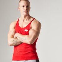 Longline Stringer Vest - XXL - Red