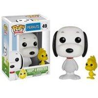 Peanuts Snoopy and Woodstock Pop! Vinyl Figure