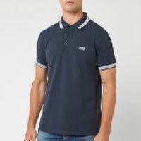 BOSS Hugo Boss Men's Paddy Tipped Polo Shirt - Navy - XL