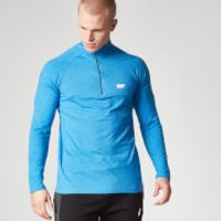 Performance Long-Sleeve 1/4 Zip-Top - XXL - Blue