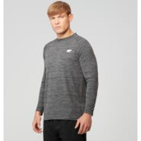 Performance Long-Sleeve Top - M - Black