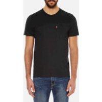 Levis Mens Sunset Pocket T-Shirt - Black - S - Black