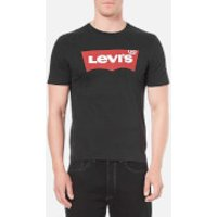 Levis Mens Graphic Logo T-Shirt- Graphic Black - M - Black