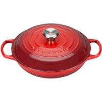 le-creuset-signature-cast-iron-shallow-casserole-dish-26cm-cerise