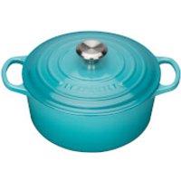 le-creuset-signature-cast-iron-round-casserole-dish-24cm-teal