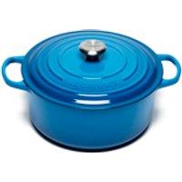le-creuset-signature-cast-iron-round-casserole-dish-28cm-marseille-blue