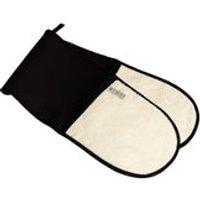Le Creuset Textiles Double Oven Gloves - Black