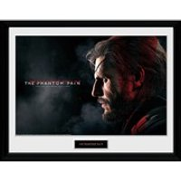 Metal Gear Solid V Snake Framed Photographic - 16 x 12