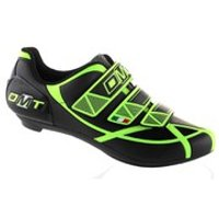 DMT Aries Road Shoes - Black/Yellow Fluo - EU 37 - Black/Yellow