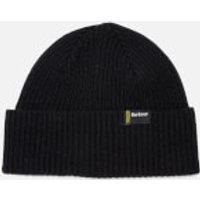Barbour International Mens Beanie Hat - Black - One Size