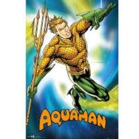 DC Comics Aquaman - 24 x 36 Inches Maxi Poster - Dc Gifts