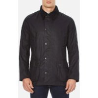 Barbour Heritage Mens Ashby Wax Jacket - Navy - L